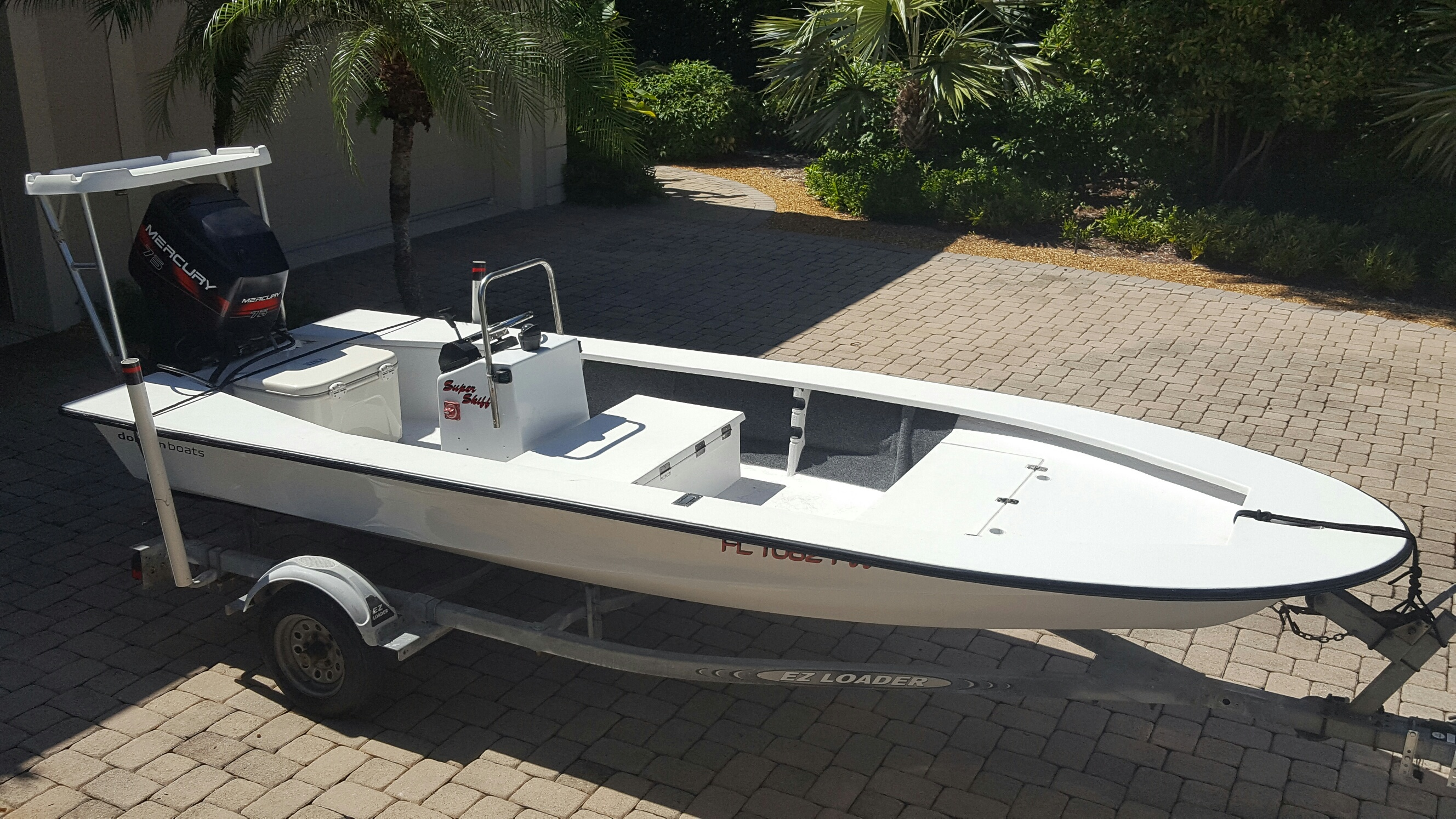 Skiffs For Sale >> Sold Expired Super Skiff For Sale Nice Simple Shallow