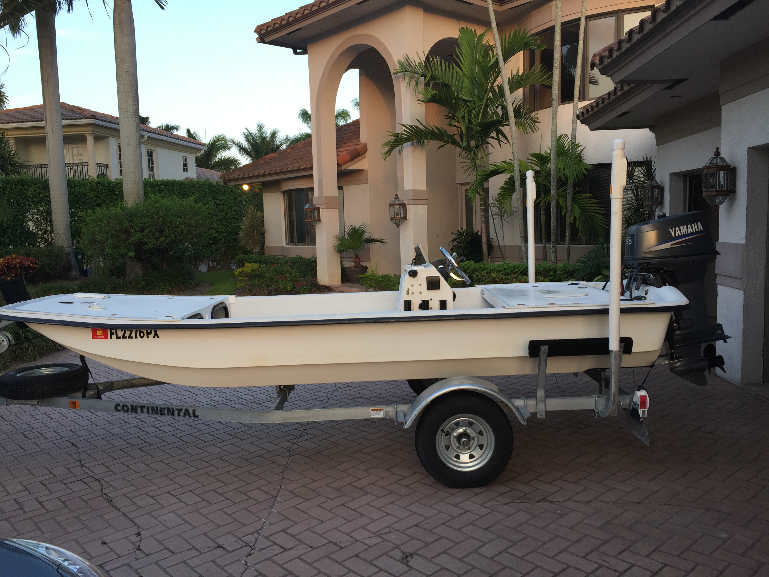 SOLD/EXPIRED - 2014 Carolina Skiff J16 w/50 hp 2-stroke Yamaha ...