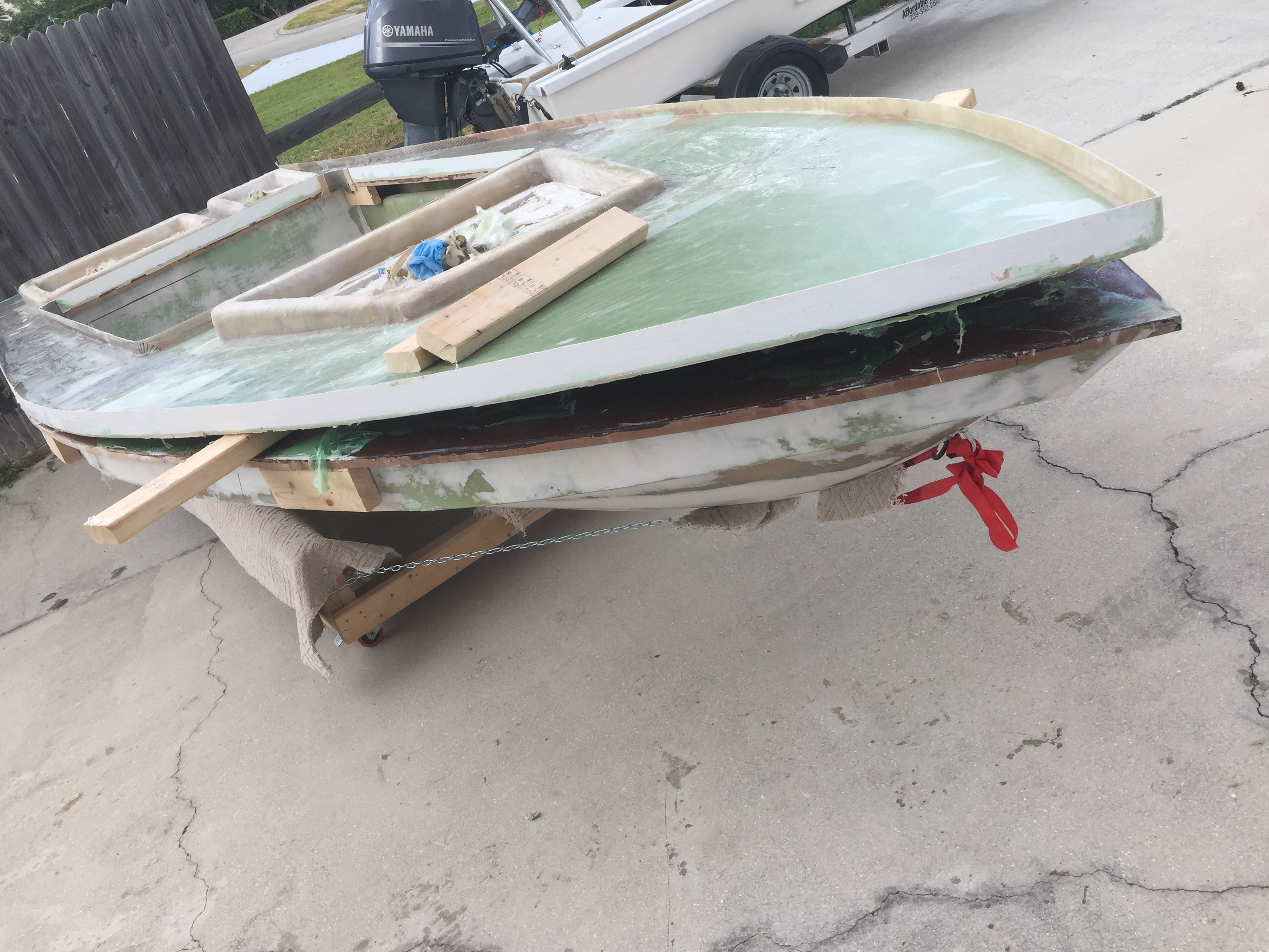 New One Foam Core Poling Skiff Microskiff Dedicated To