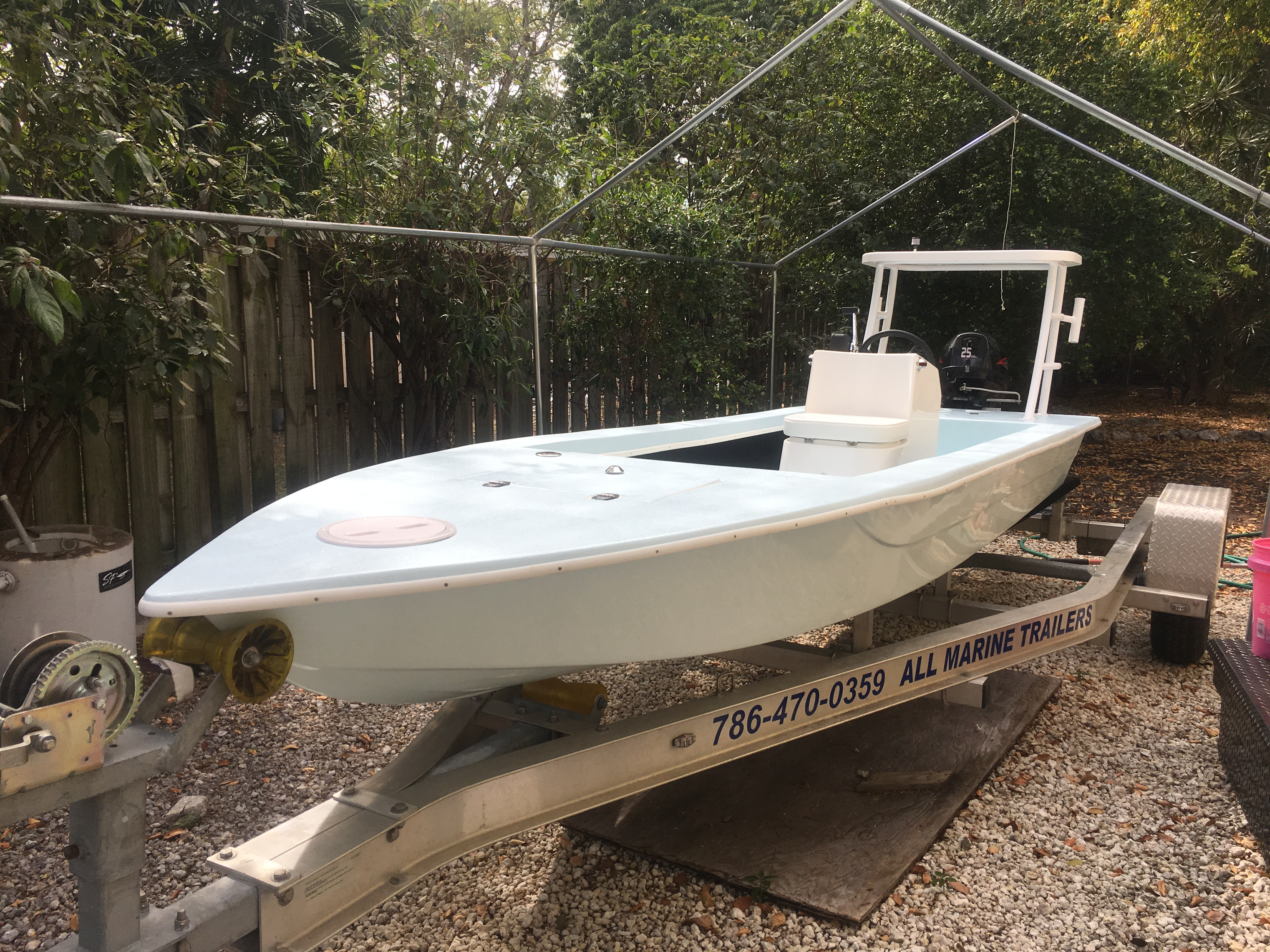 SOLD/EXPIRED - 2017 16' skiff for sale | Microskiff