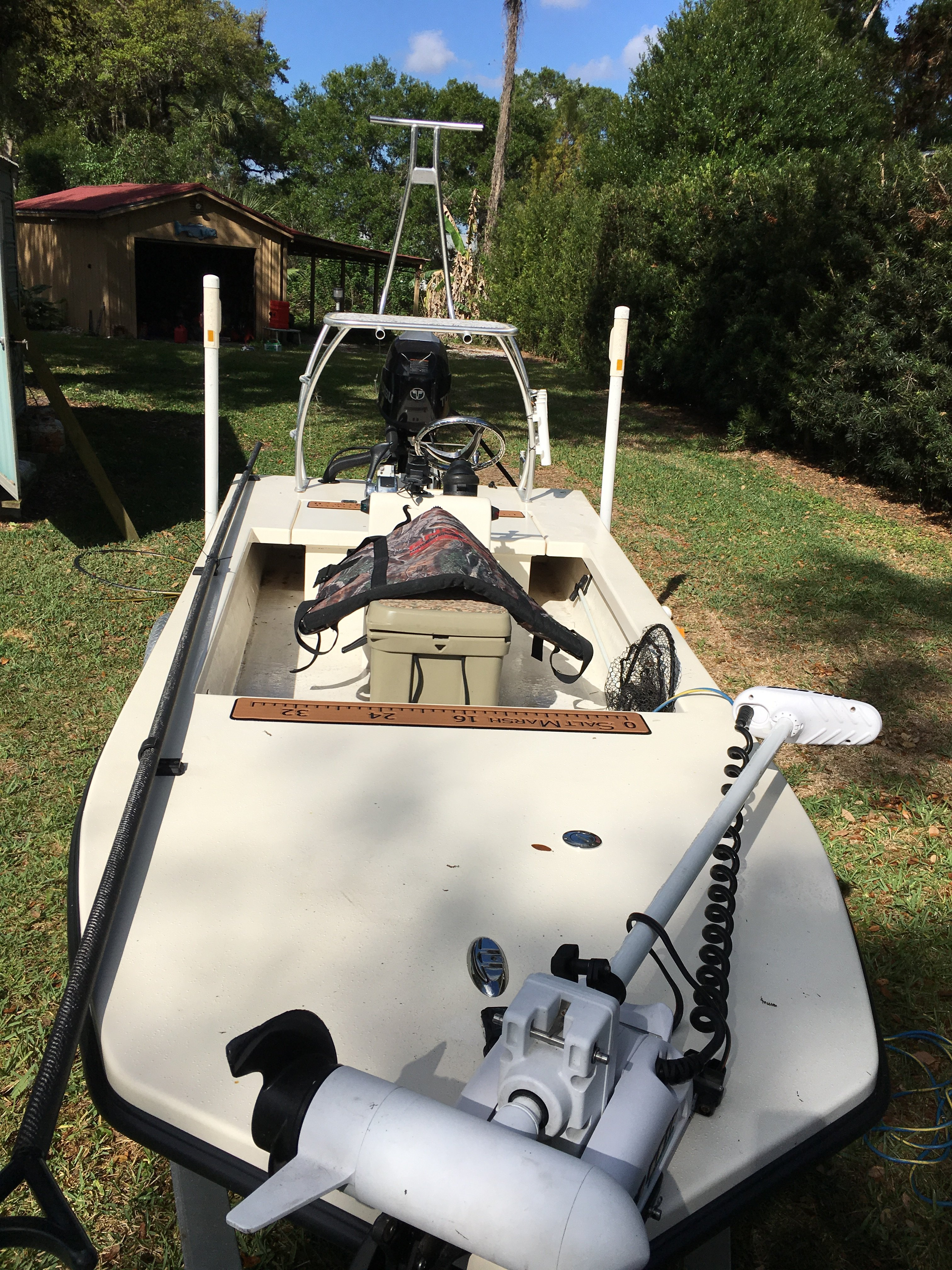 SOLD/EXPIRED - Saltmarsh 1656 CC for sale   Microskiff - Dedicated To The Smallest Of Skiffs