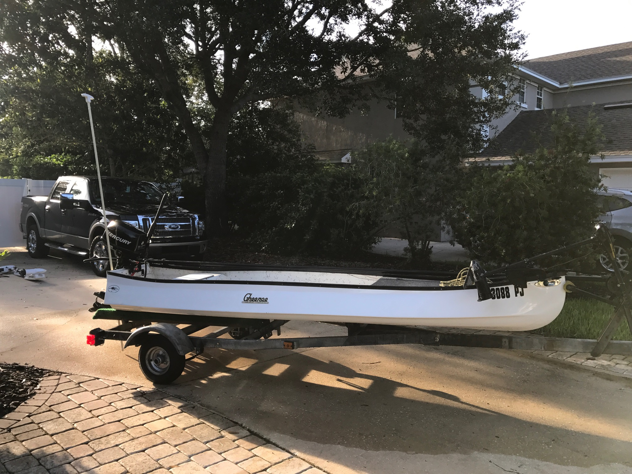 2012 Gheenoe 13' Highsider [SOLD] | Microskiff - Dedicated ...